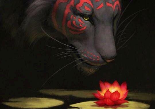 tiger-flower-courage